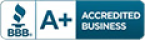 Better Business Bureau icon and link
